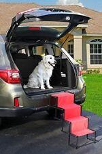 Indoor/Outdoor 4 Step Accordion Metal Frame Folding Pet Steps Dog steps