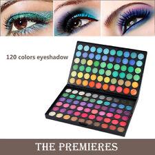Pro 120 Colors Eyeshadow Women Cosmetics Set Primer Makeup Palette Matte Shimmer
