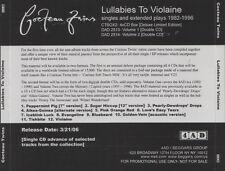 Cocteau Twins – Lullabies To Violaine CD PROMO (4AD)