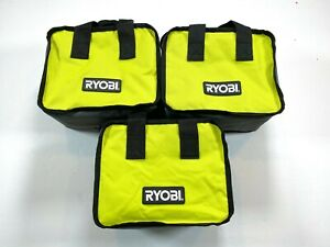 "LOT OF 3 Ryobi Tool Bag 10""x8""x6"" Case For Tools, Crafts, General Tote Bag NEW"