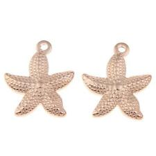 Jewelry Stainless Steel Pendant Charm Beads Fit Necklace Bracelet Chain Starfish