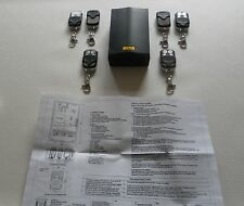 Remote control unit for roller garage door & shutters with six hand sets