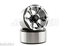 "Jazrider Aluminum 1.9""Beadlock 6-Spokes Wheels 2pcs(B) For RC Crawler SCX10/CC01"