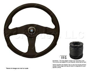 Nardi Challenge 350mm Steering Wheel + MOMO Hub for Toyota 6089.35.2071 + 7713