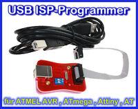 USB ISP-Programmer für ATMEL AVR, STK500 , ATmega, ATtiny, AT90 Controller