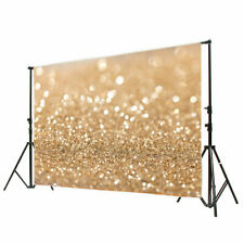 Usa Gold Glitter Sequin Background Photography Wall Vinyl Backdrops Studio 7x5ft