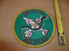 (E14) ECUSSON PATCH USA ARMY   TACTICAL MISSILES
