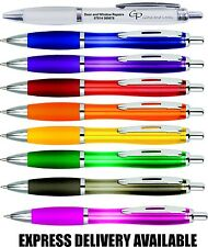 Curvy Pens x 100 Plain unprinted