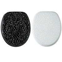 wc sitz toilettensitz chrom look toilettendeckel klobrille. Black Bedroom Furniture Sets. Home Design Ideas