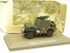 Atlas Militaire Armée 1/43 - Jeep Willys Armored Car