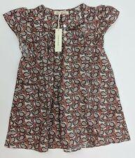 Soor Ploom Girl's Short Sleeve Mini Dress Multi-Color Pattern 18/24