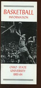 1963/1964 NCAA Basketball Ohio State University Media Guide NRMT