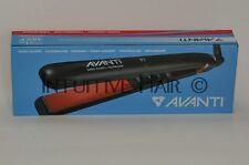 """AVANTI 1"""" NANO-SILVER, TOURMALINE AND CERAMIC FLAT IRON - Up to 450°F A-ST3"""