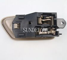 Tan Left Driver Side Inside Door Handle For Toyota Camry1997 1998 1999 2000 2001