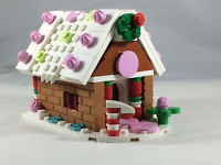 LEGO Gingerbread House - Christmas Village custom design - made with real LEGO