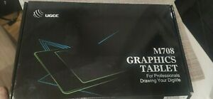 """Ugee M708 Digital Graphics 10* 6""""Drawing Painting Tablet Board Ultra-thin Tablet"""