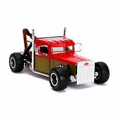 1 24 Jada Fast & Furious Custom Peterbilt Truck Red #32089 Diecast Model Car