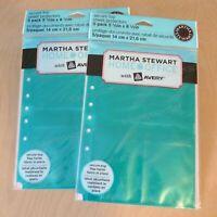 Organizer Martha Stewart Planner Insert Note Tabs Notetabs /& Sticky Notes