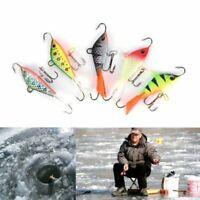 dur des leurres de pêche d'hiver la glace des hameçons la turlutte de plomb