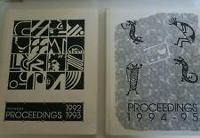Lot of 2 Fine Tuning Proceedings Shortwave Broadcast DX hobbyist 1992-93 1994-95