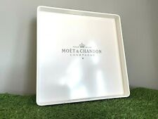 More details for moet & chandon serving tray large 25x25cm champagne wine home bar pub gift party