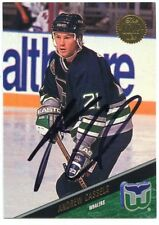 ANDREW CASSELS WHALERS AUTOGRAPH AUTO 93-94 LEAF #50 *38291