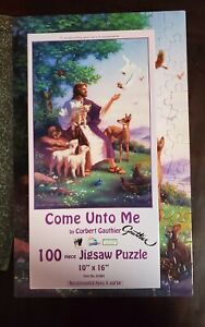 Suns Out Come Unto Me By Corbert Gauthier 100 Piece Puzzle Preowned