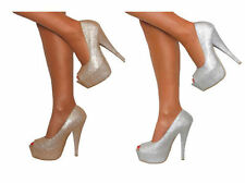 Decolté e sabot da donna stiletto in pelle sintetica