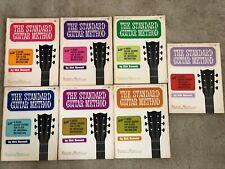 The Standard Guitar Method instruction books by Dick Bennett, set of books 1-7