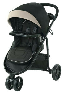 Graco Baby Modes 3 Lite DLX Click Connect Reclining Seat Stroller Pierce NEW