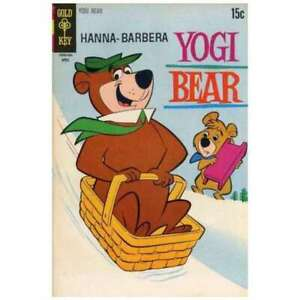 Yogi Bear (1959 series) #40 in Very Fine + condition. Dell comics [*af]