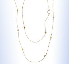 BP Gold-Tone Layered STAR & MOON Necklace