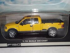 Beanstalk 2004 Ford F-150 4x4 Pickup Truck Off-Road 1:18 Scale Diecast Model