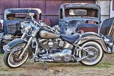 Harley Davidson / Scrapyard Metal Sign