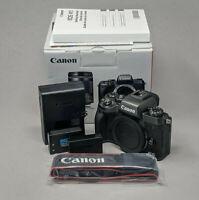 Canon EOS M5 24.2MP Digital Camera - Black (Body Only) - Nice!