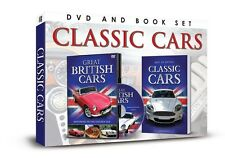 CLASSIC CARS DVD & BOOK SET - MOTORING IN THE GOLDEN AGE DVD & CLASSIC CARS BOOK