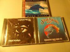 Steve Miller Band 3 CD Rock Lot Abracadabra WIDE RIVER Greatest Hits 1974-78
