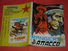 PICCOLO RANGER N° 22- ORIGINALE 1° EDIZIONE -DEL 1965- ALBI DEL  COW BOY- RARO