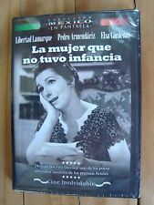 LA MUJER QUE NO TUVO INFANCIA 1957 Libertad Lamarque Pedro Armendariz new DVD