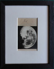 Rare CDV of the Moon 1888 - Antique Photo by Guttheil & Sohn, Koenigsberg