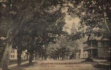 Ashfield MA Main St. East c1910 Postcard
