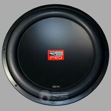 RE Audio SXPRO15-D4 15 Inch 3-Stack Magnet 2-Piece Dual Cone Sxpro Woofer New