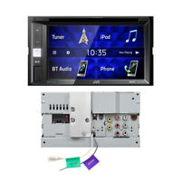 JVC KW-V250BT 2-DIN Autoradio Bluetooth DVD CD USB Spotify Control iPod Tuner