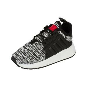 adidas Originals X_PLR EL Infants Sizes 3, 6 Black RRP £40 Brand New CP9801