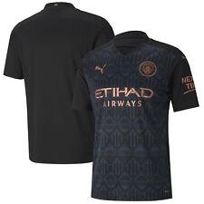 Puma Mens Manchester City Football Soccer Away Shirt 2020-21 -  Short Sleeve