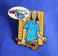 ebay Live 2008 Chicago Ukelele Jones Hero Collecter Lapel Hat Pin