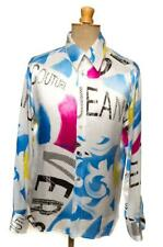 VTG 90'S VERSACE JEANS COUTURE SHIRT SATIN XL EXTRA LARGE