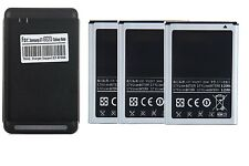 1 2 3 Samsung Batteries EB615268VA + Wall Charger for Galaxy Note 1 i9220, N7000