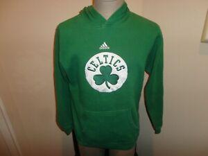 Adidas Boston Celtics NBA Basketball Hooded hoodie Sweatshirt 70-30 Youth XL