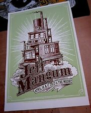 Jeff Mangum 2012 Moore Theatre Seattle Concert Screen Print Poster Neutral Milk